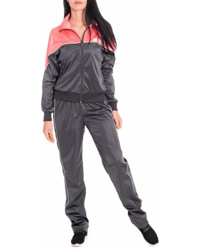 Спортивный костюм красный серый Lacywear