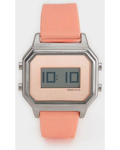 Часы пластиковые прямоугольный Parfois