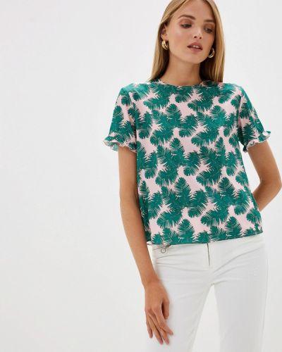 Блузка с коротким рукавом итальянский Blugirl Folies