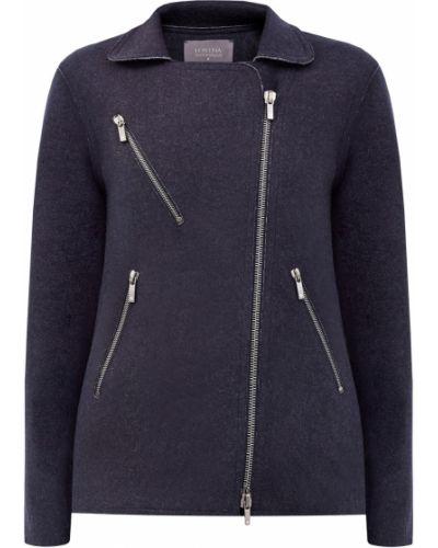 Кашемировая куртка - черная Lorena Antoniazzi