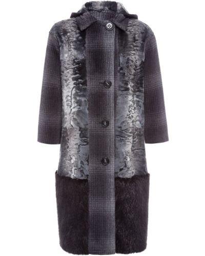 Пальто с капюшоном однобортное трансформер Color Temperature