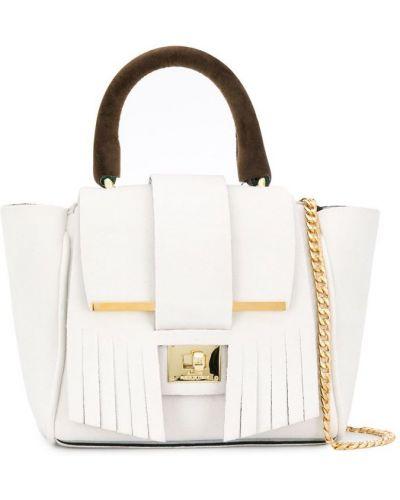 Маленькая сумка сумка-тоут с бахромой Alila