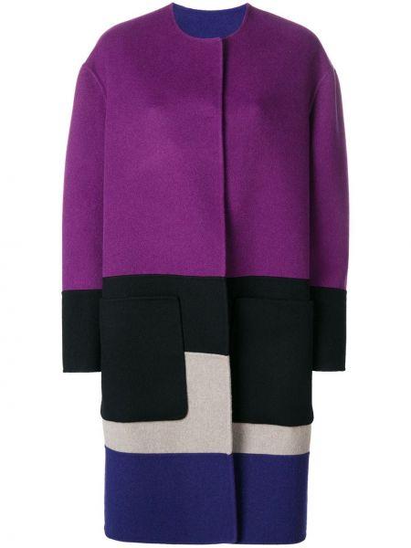Длинное пальто оверсайз на кнопках Bottega Veneta