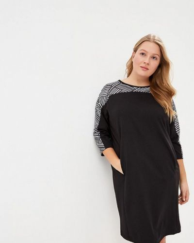 Черное джинсовое платье Lina