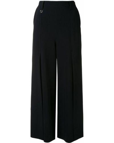 Bezpłatne cięcie bawełna czarny spodnie culotte bezpłatne cięcie Cinq A Sept