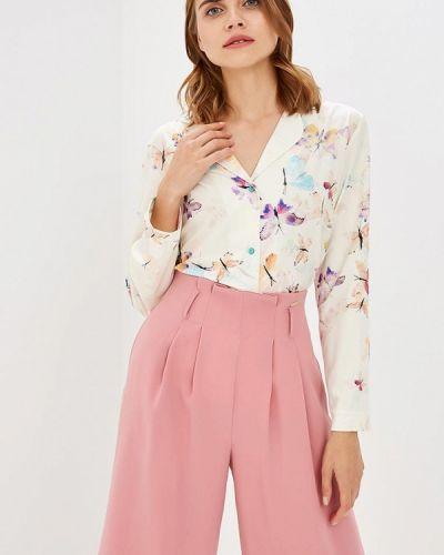 Блузка с длинными рукавами - бежевая Nemes