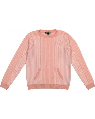 Różowy kaszmir sweter Loro Piana Kids