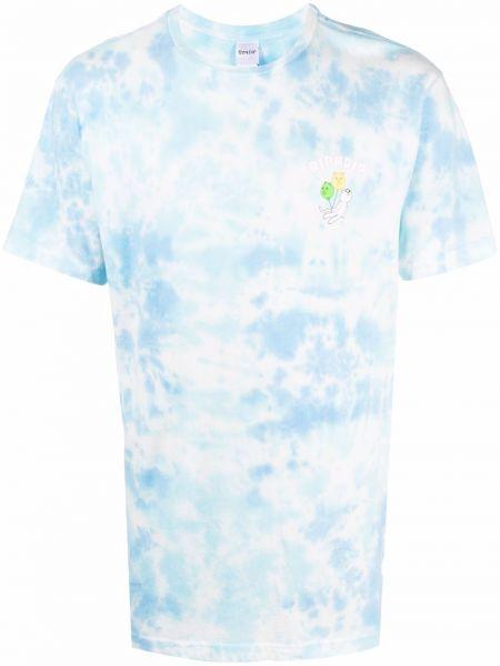 Biały t-shirt z printem krótki rękaw Ripndip