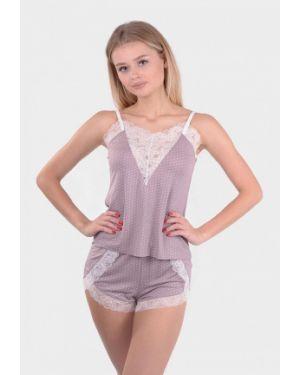 Пижамная фиолетовая пижама N.el.