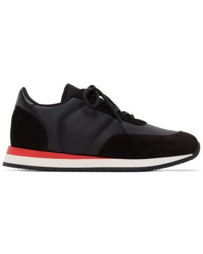 Кожаные белые кроссовки беговые для бега на шнурках Giuseppe Zanotti