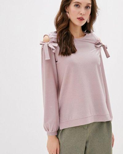 Розовая блузка с длинными рукавами Adzhedo