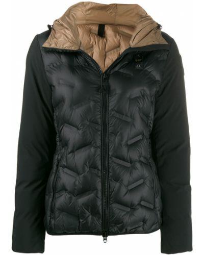 Куртка с капюшоном черная длинная Blauer
