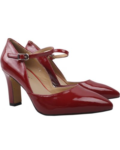 Кожаные туфли - красные Angelo Vani