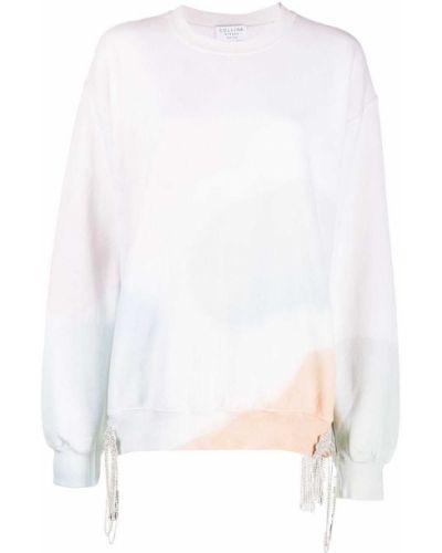Z rękawami bawełna bawełna różowy zworki Collina Strada