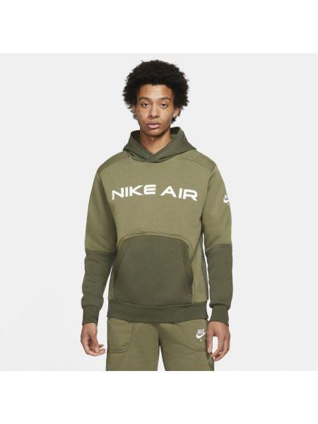 Pulower z kapturem dzianinowy na co dzień Nike