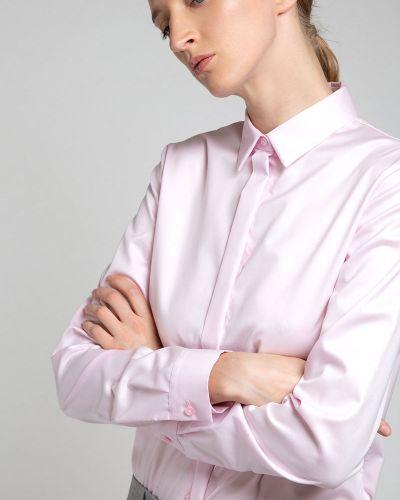 Блузка розовая классическая Vassa&co