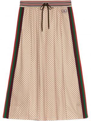 Spódnica plisowana - biała Gucci