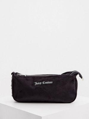Черная зимняя сумка Juicy Couture