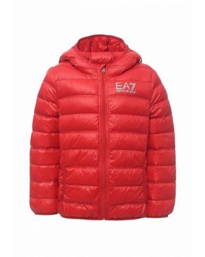 Куртка весенний красная Ea7