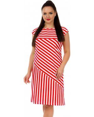 Летнее платье макси в полоску Liza Fashion