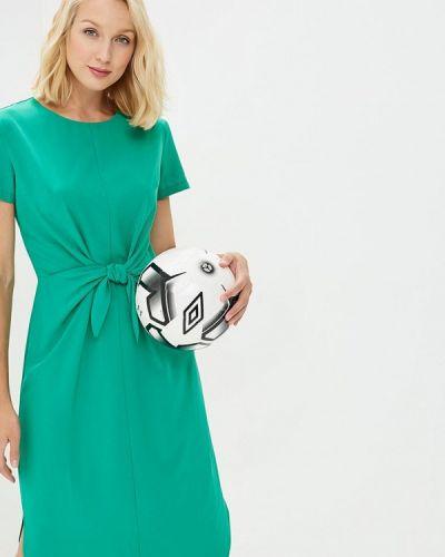 Зеленое платье весеннее Eliseeva Olesya