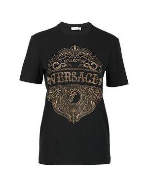 Футболка черная Versace Collection