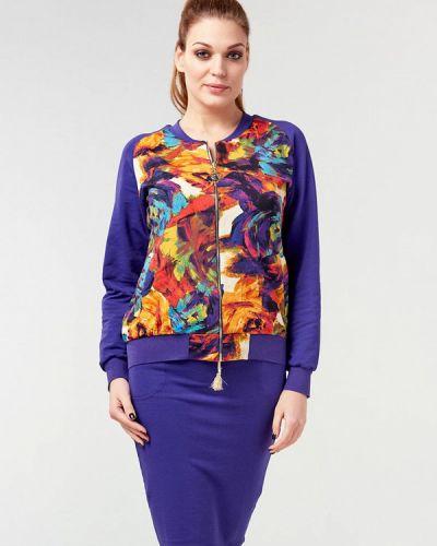 Юбочный костюм фиолетовый Ora