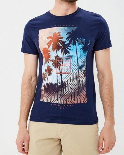 Синяя футболка Sela