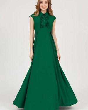 Вечернее платье весеннее зеленый Marichuell