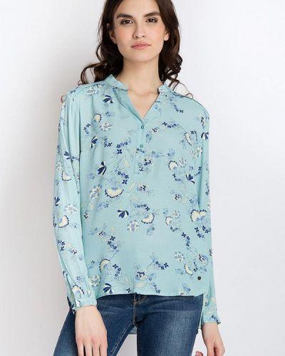 Блузка бирюзовый Finn Flare