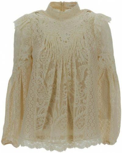 Beżowa bluzka Zimmermann