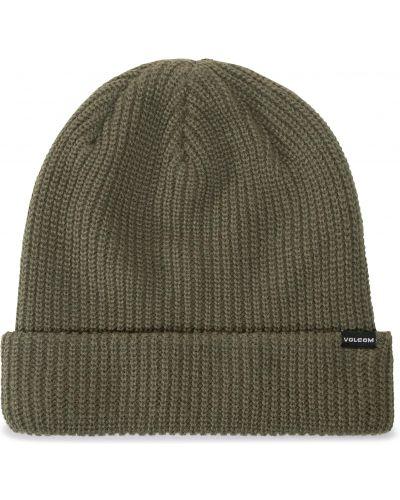 Zielona czapka z akrylu Volcom