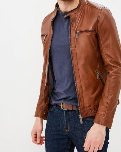 Коричневая куртка Oakwood