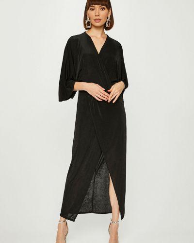 Платье макси с запахом прямое Answear