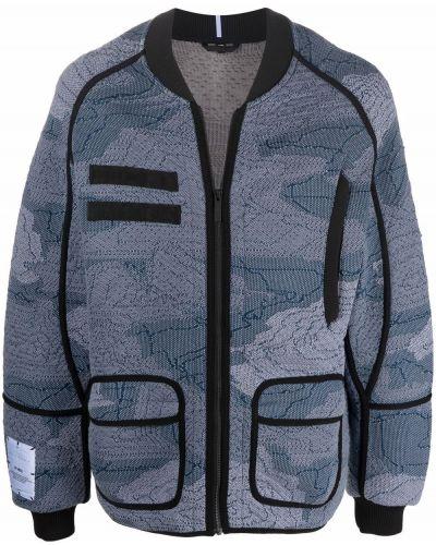 Czarna kurtka bawełniana Mcq