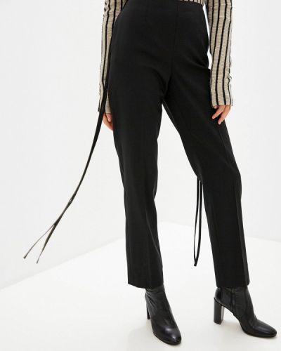 Классические брюки черные итальянский Mm6 Maison Margiela