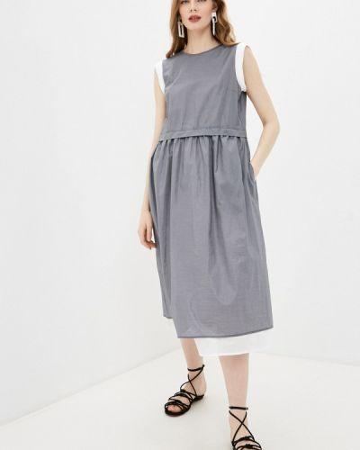Повседневное платье - серое Cappellini