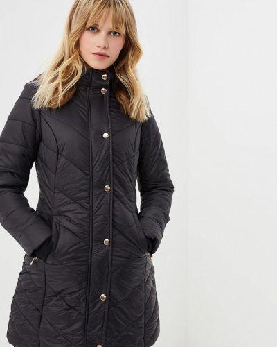 Зимняя куртка утепленная черная Zuiki