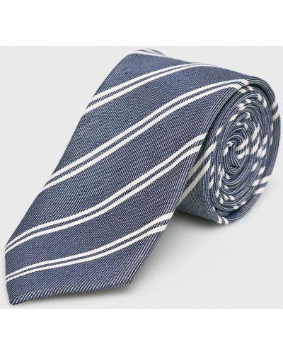Krawat z wzorem czerwony Selected