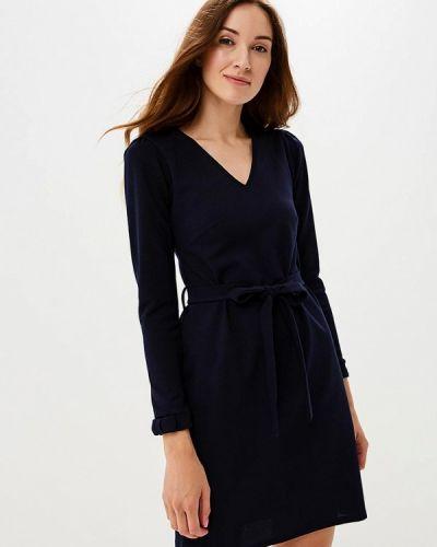 Синее платье с длинными рукавами Dorothy Perkins