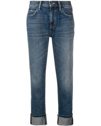 Укороченные джинсы с манжетами с карманами Current/elliott