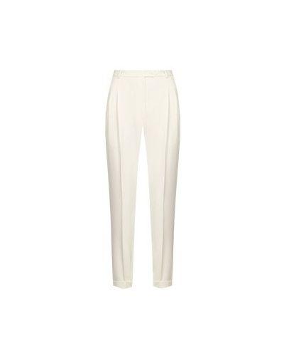 Прямые белые брюки из вискозы Seven Lab