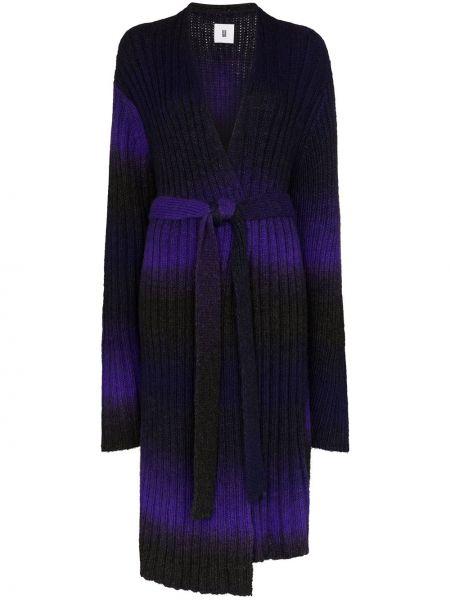 Фиолетовое платье с вырезом со спущенными плечами Asai