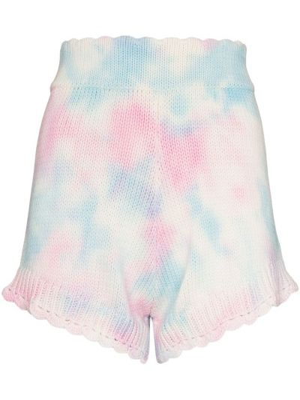 Трикотажные шорты - розовые Loveshackfancy