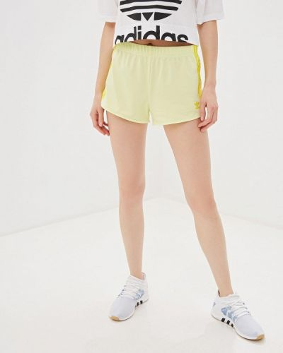 Спортивные шорты желтый Adidas Originals