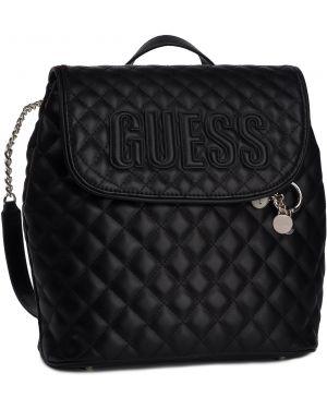 Czarny torba sportowa z niskim stanem Guess