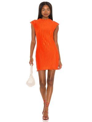 Платье мини короткое - оранжевое House Of Harlow 1960