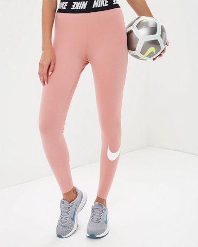 Розовые брюки Nike