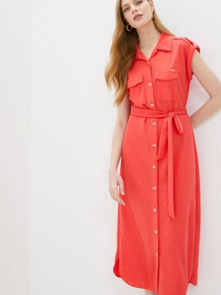 Платье - красное Sa.l.ko