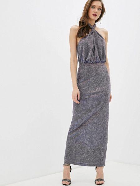 Вечернее платье осеннее синее Fashion.love.story